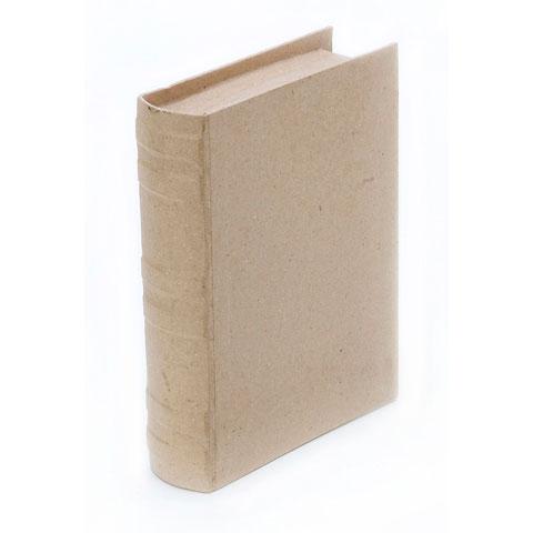paper mache book 7 by 5